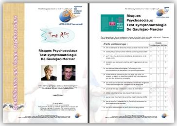 Tests Risques Psychosociaux ISRIFRANCE de Gaulejac-Mercier